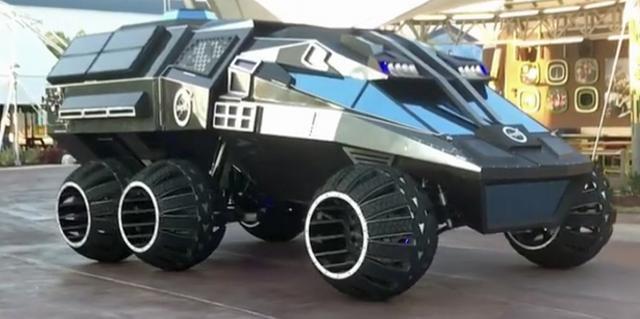 Mars Land rover
