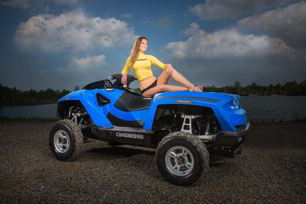 Gibbs Quadski Amphibious ATV