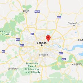 Hovering Disc Spotted over Stratford on Thames, UK