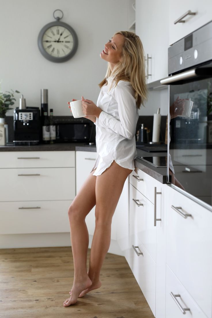 sexy Girls with Coffee