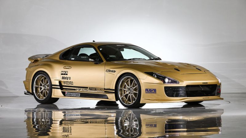 A Toyota Supra unlike any other