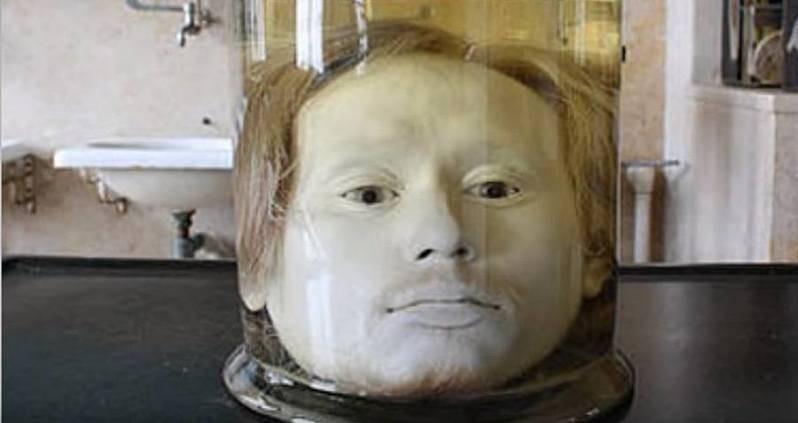 Serial Killer's Head In A Jar