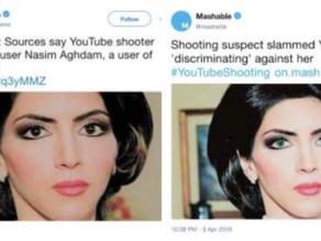 Mashable Caught Photoshopping YouTube Shooter Nasim Aghdam