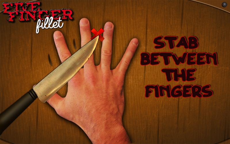 The Knife Game AKA Five Finger Fillet
