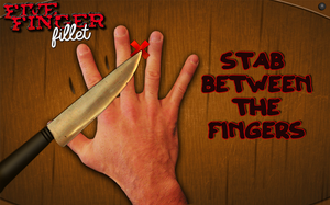 The Knife Game AKA Five Finger Fillet