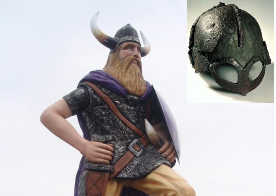 real viking helmets