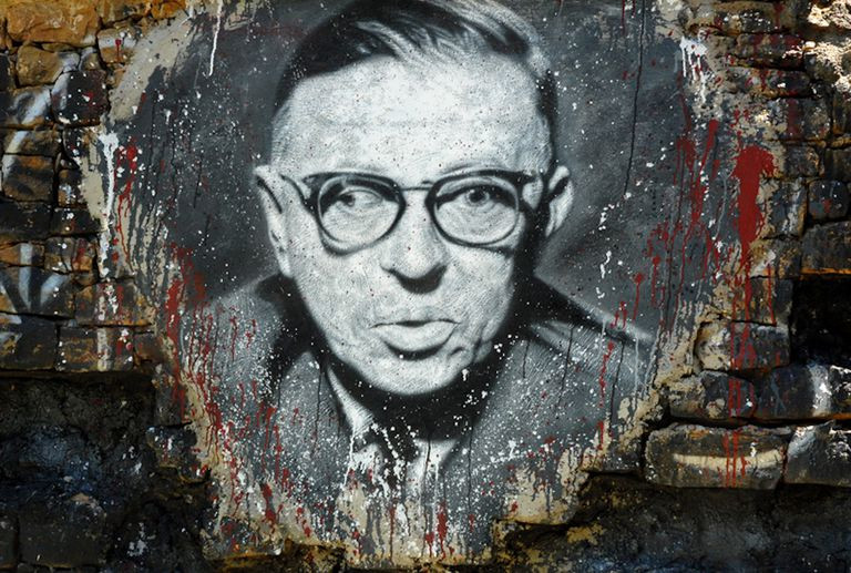 Jean Paul Sartre the Wall
