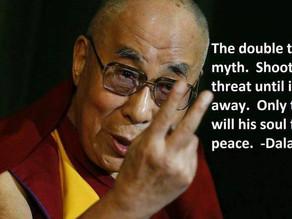Dalai Lama Speaks on Guns