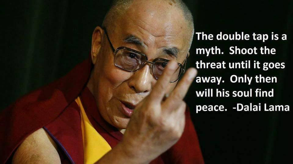 Dalai Lama Gun Memes