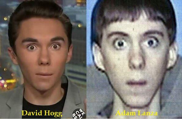 Is David Hogg also Adam Lanza?