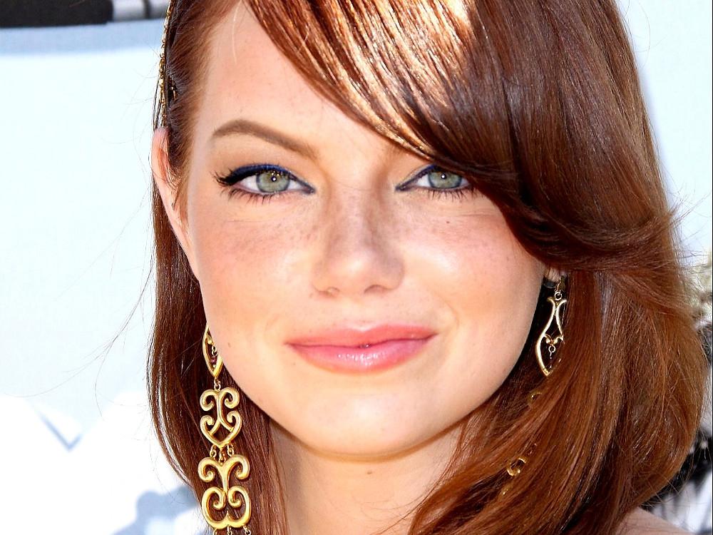 emma stone green eyes