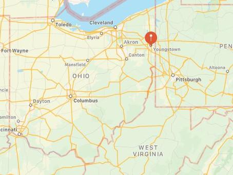 Tic Tac Shaped UFO Near Youngstown, Ohio