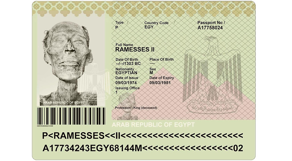 Ramses II: The Mummy Who Needed a Passport