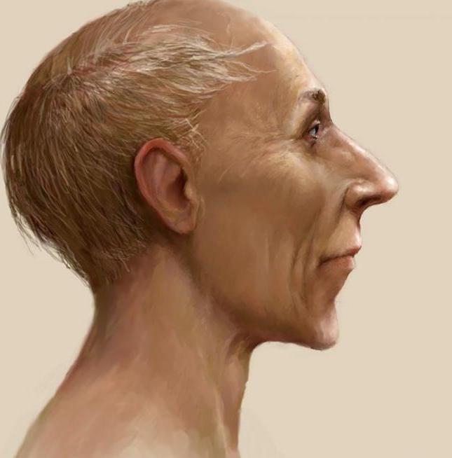 facial reconstruction Ramses II