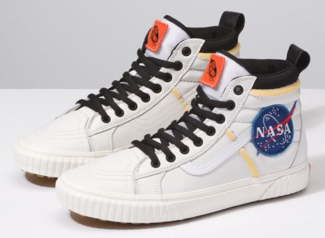 NASA Themed Sneakers from Vans