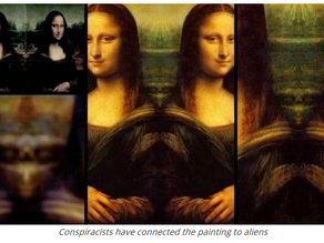 Extraterrestrial Beings Hidden In Da Vinci's Paintings