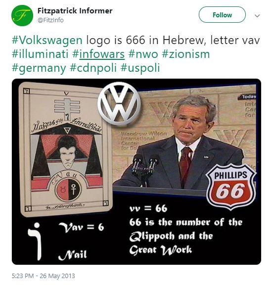 Hidden Meanings in the Volkswagen Logo?