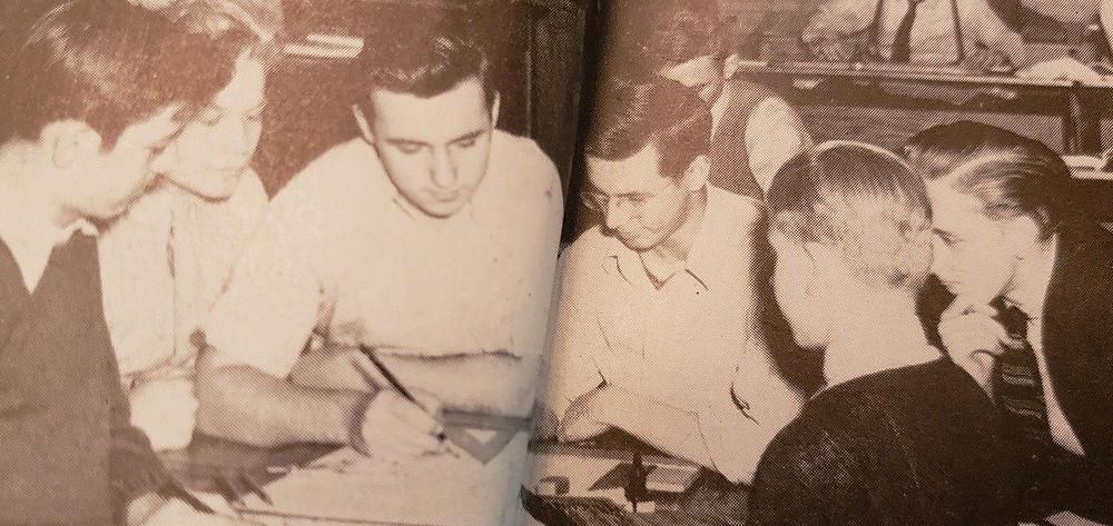 Steve Ditko's High School Yearbook is on EBay