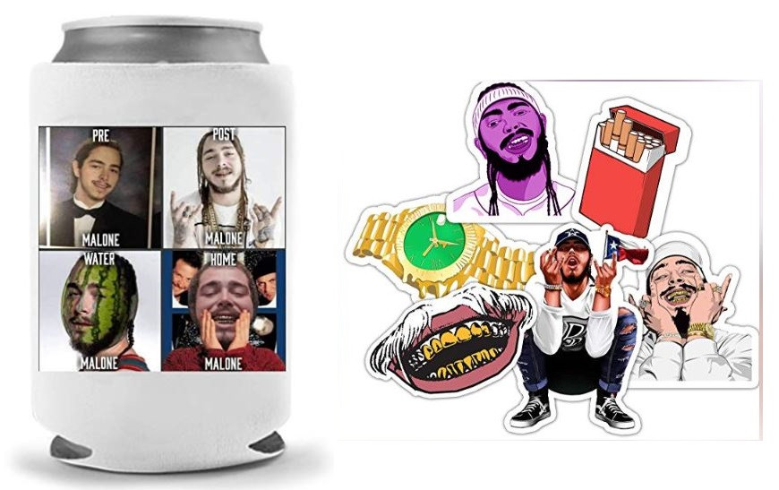 Post Malone merchandise