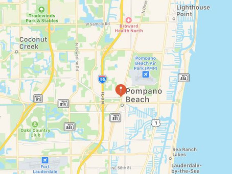 Collection of Objects Sighted in Pompano Beach, Florida