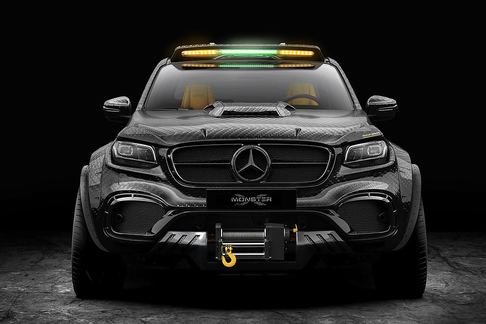 Monster Mercedes 6X6 Custom