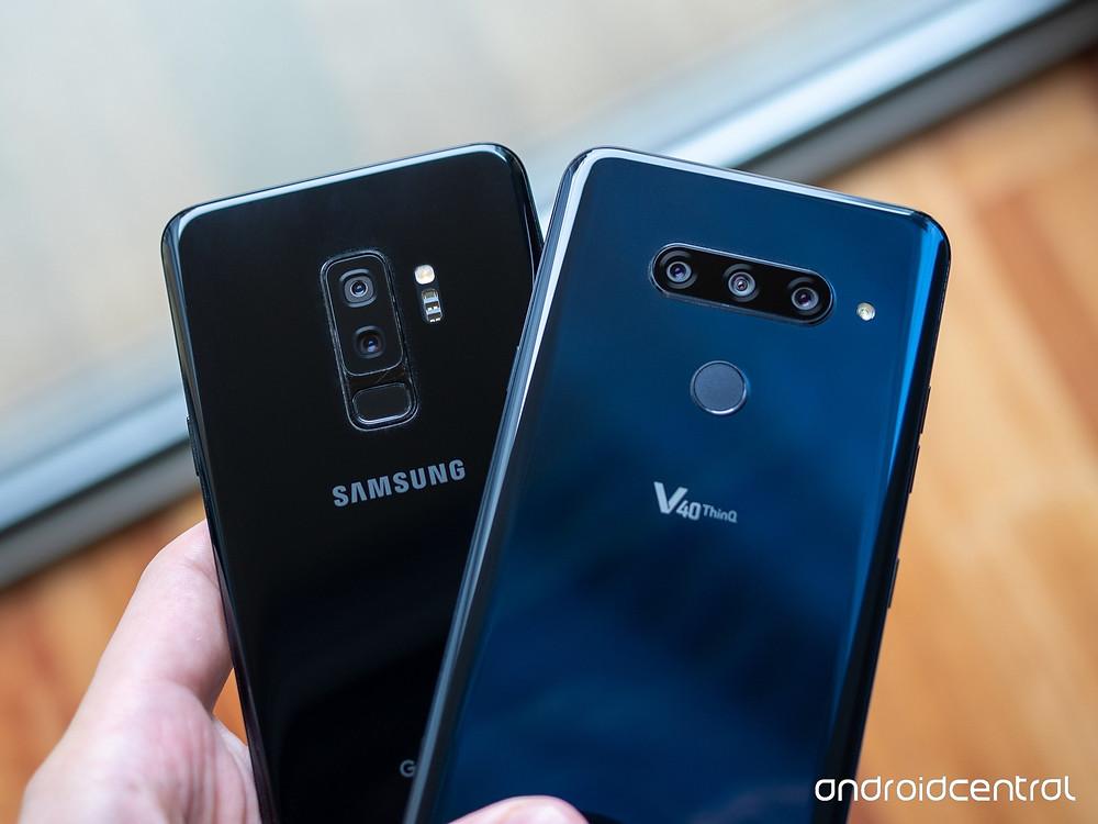 Samsung S9 vs LG V40