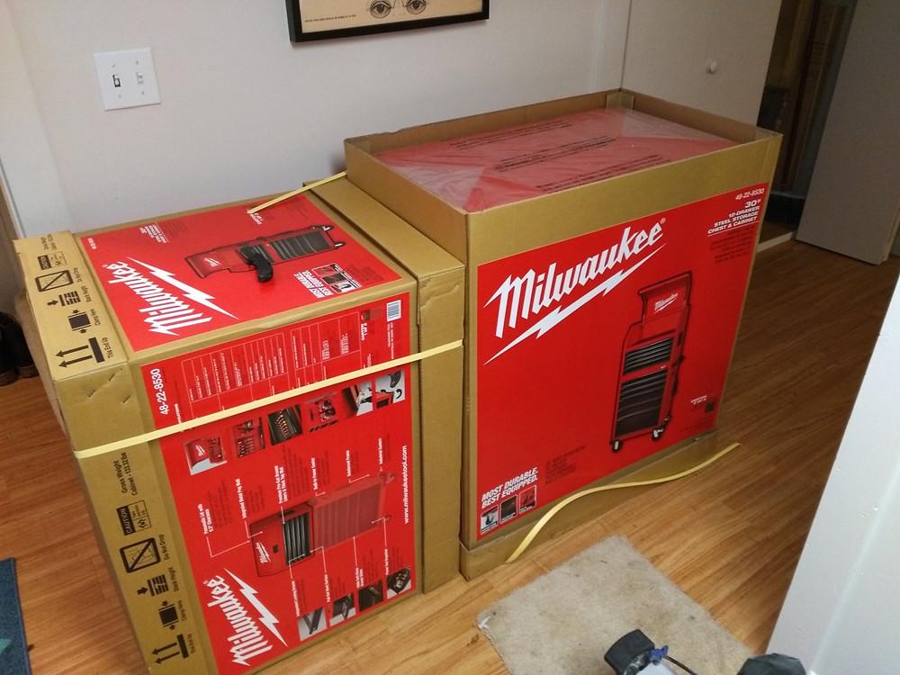 Milwaukee 30 inch Tool Box