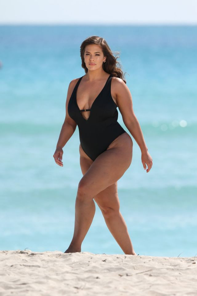 Ashley Graham Unretouched