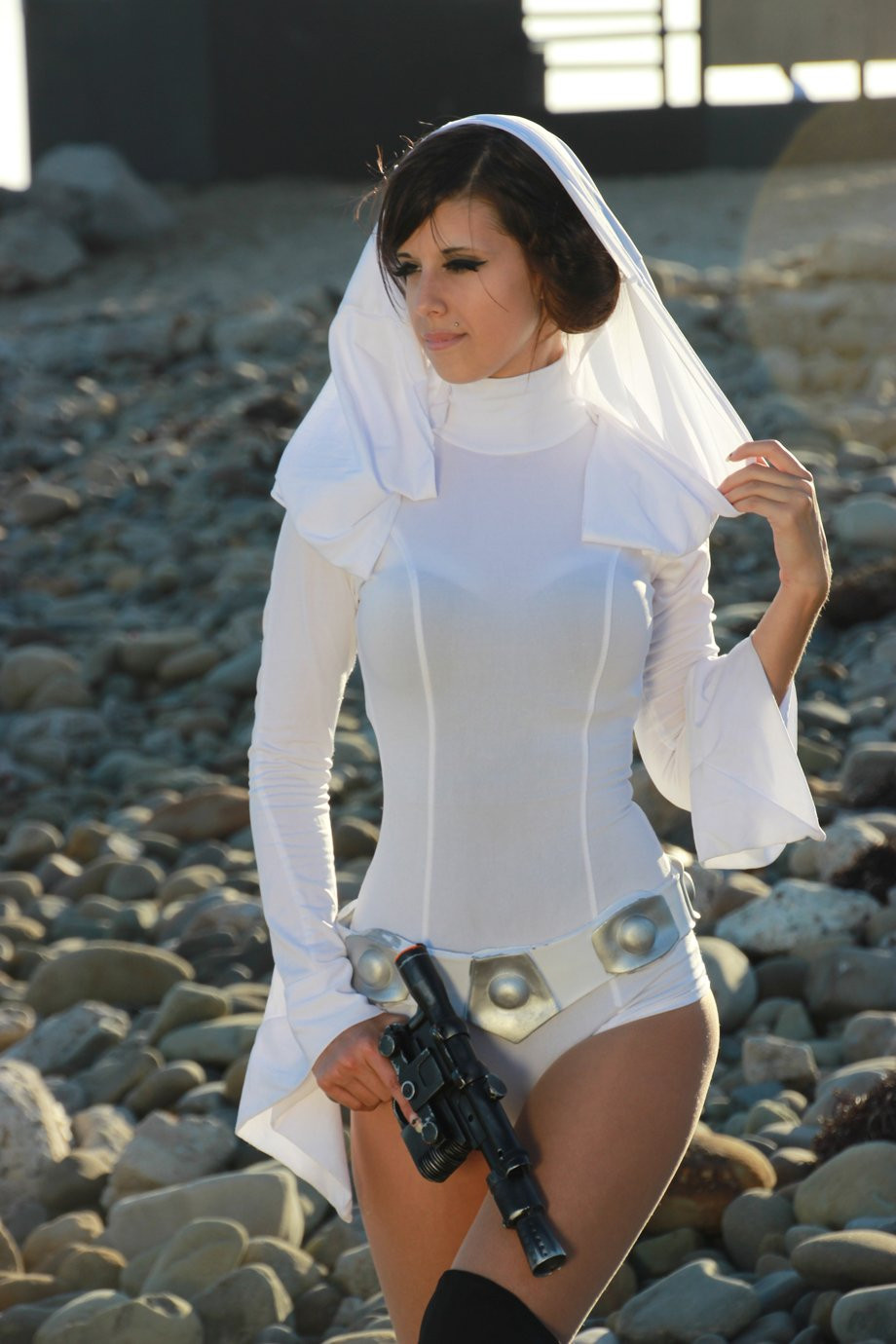 Sexy Star Wars cosplay Girls