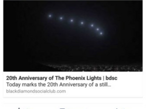 Good Work Gets Noticed: The Phoenix Lights
