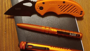 Always Be Ready: 5.11 EDC in Weathered Orange