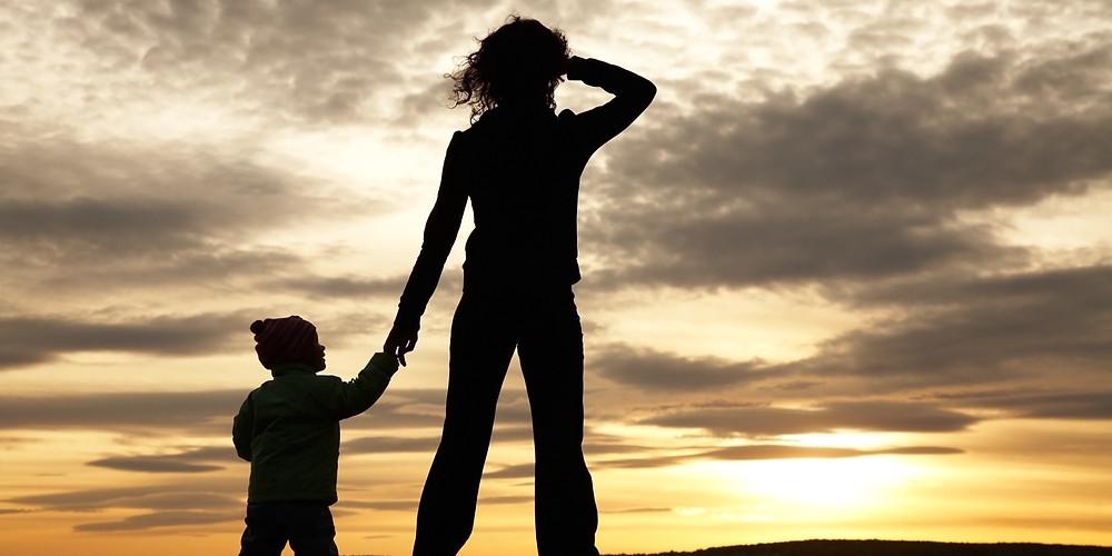 brave single mom