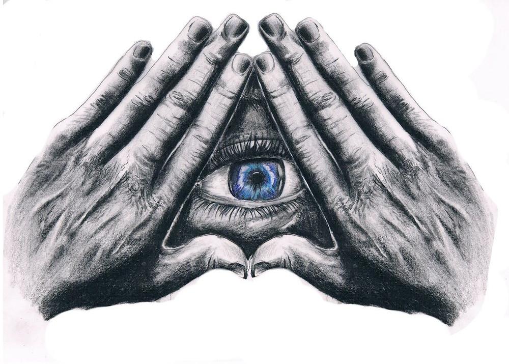 Symbols of the Illuminati: All Seeing Eye and Pyramid