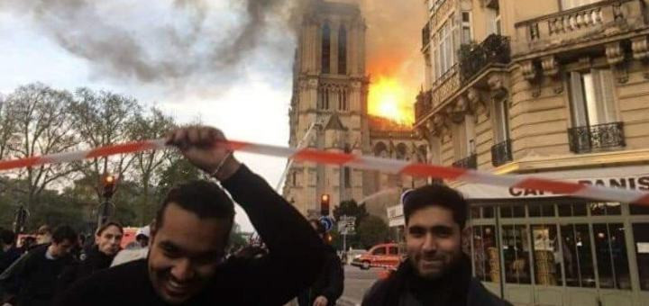 Conspiracies Around the Notre Dame Cathedral Burning