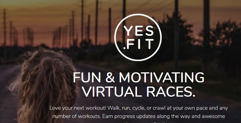 Yes.Fit App has a Nessie Virtual Race