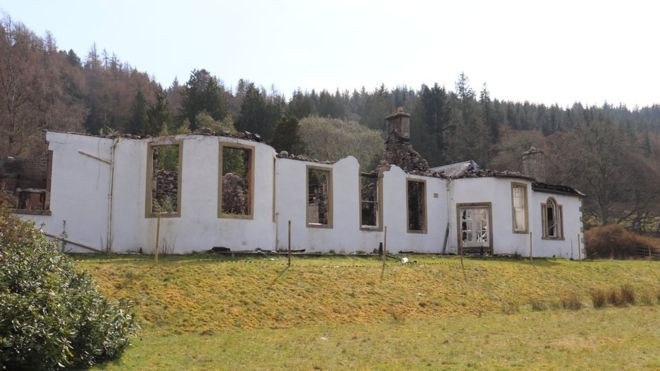 Historic House of Aleister Crowley on Loch Ness For Sale