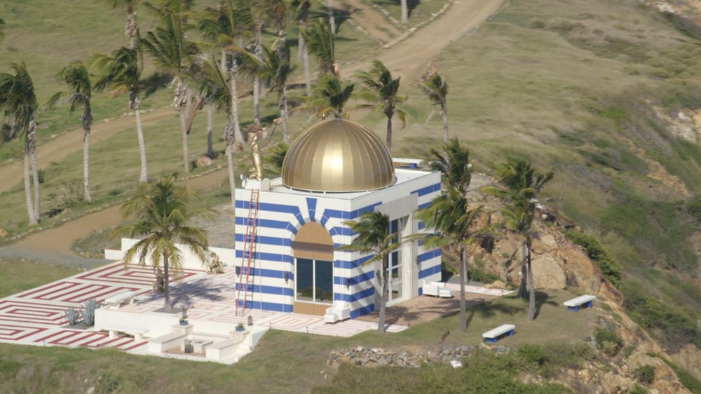 First-Ever Look Inside Epstein's Private Island