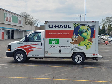 U Haul Truck From Roswell, NM