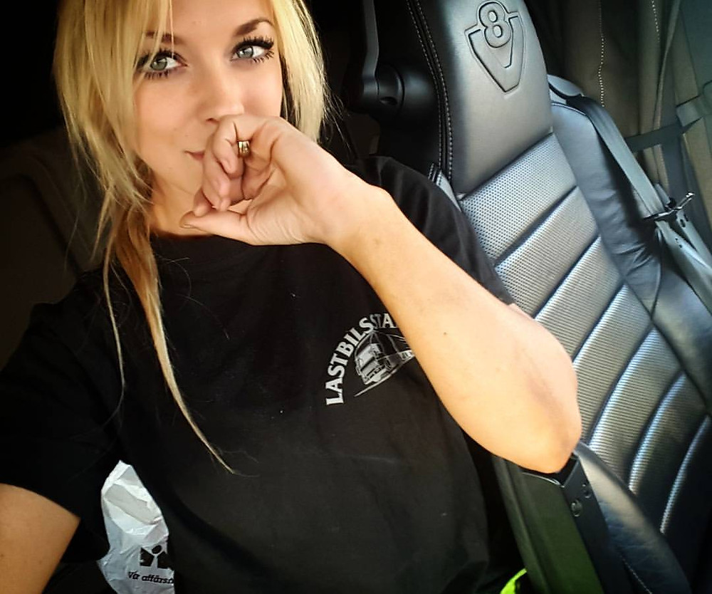 What is Sexy: Swedish Truck Driver Angelica 'Bubbles' Larsson