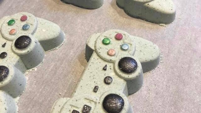 Game Controller Bath Bomb
