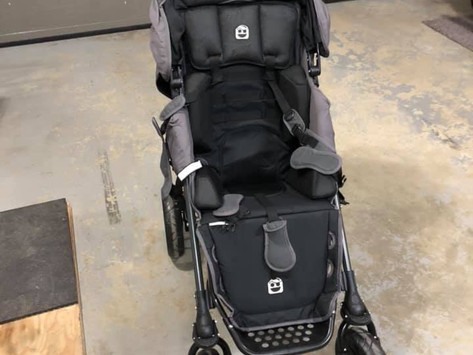 New Stroller for Cade!