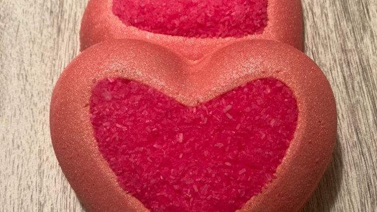 Indent Heart Bath Bomb