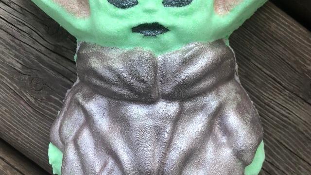 Baby Alien Bath Bomb
