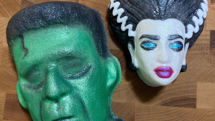 The Monster and His Bride Bath Bomb Set