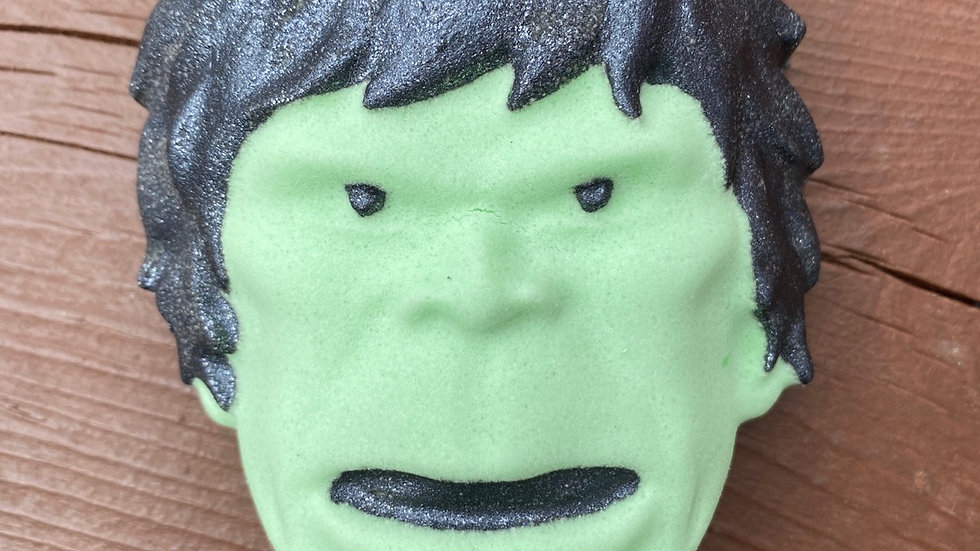 Superhero Hulk Bath Bomb
