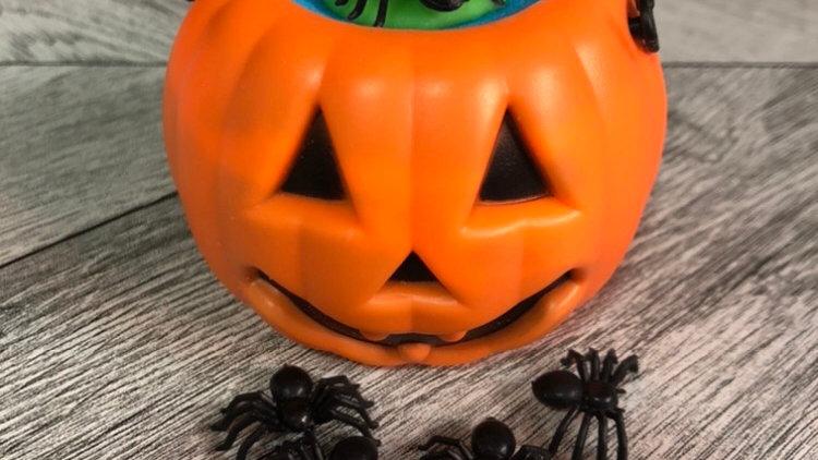 Pumpkin Cauldron Bomb