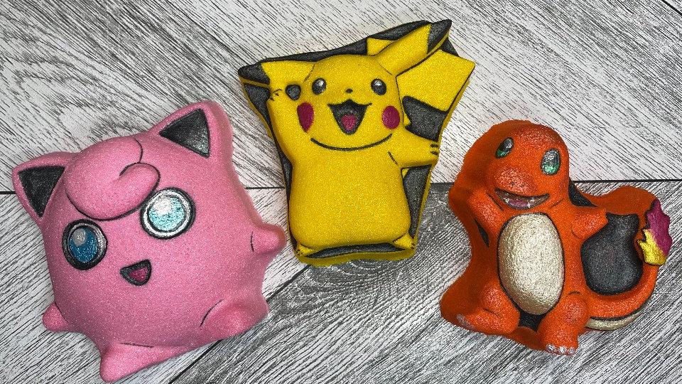 Pikachu & Friends Bath Bomb Set