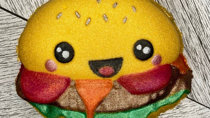 Happy Burger Bath Bomb