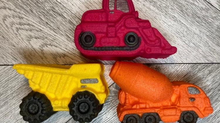 Construction Vehicles Bath Bomb Set