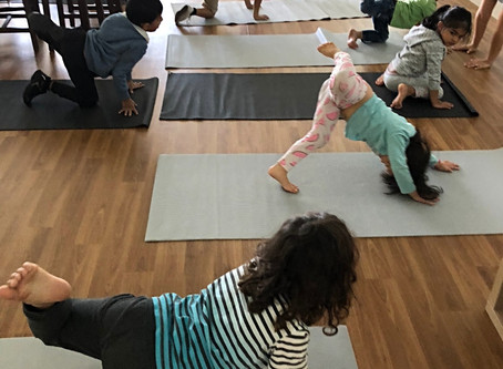 Watch us do Yoga